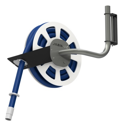 Drainvac Autoflex Retractable Hose System For Central Vacuum