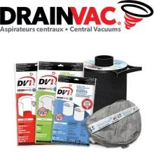 CENTRAL VACUUM - Drainvac Bags and Filters