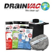 Central Vacuum Systems - Drainvac Bags and Filters