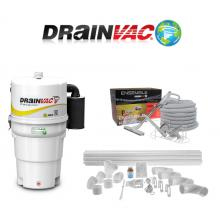 Central Vacuum Systems - Drainvac Drainvac Complete Central Vacuum System Packages, Attachments & Installation Kits