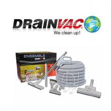 Central Vacuum Systems - Drainvac Accessories and Attachments