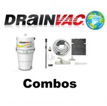 Central Vacuum Systems - Drainvac Drainvac Central Vacuum and Attachments Combos