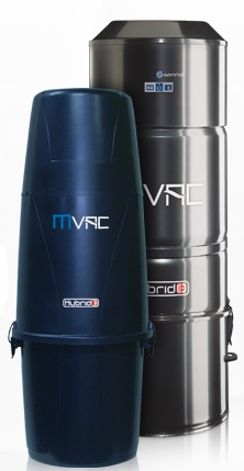 Mvac central vacuum systems