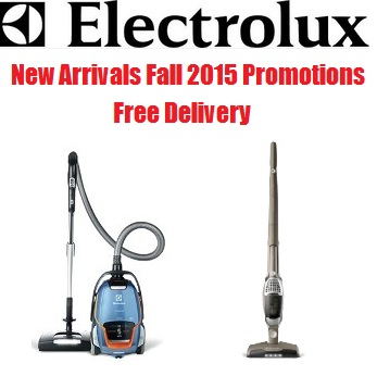 Electrolux canister and upright vacuums