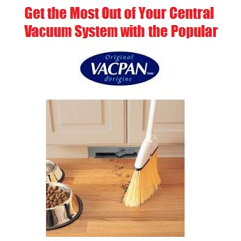 Vacpan Central Vacuum Installation