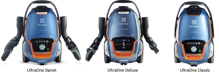 Electrolux UltraOne canister vacuum cleaners