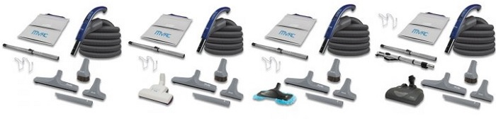 mvac central vacuum attachments and accessories