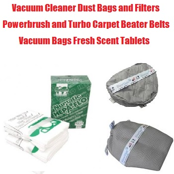 Household Vacuum Cleaner Bags, filters, belts