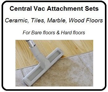 central vacuum attachments for hard floors