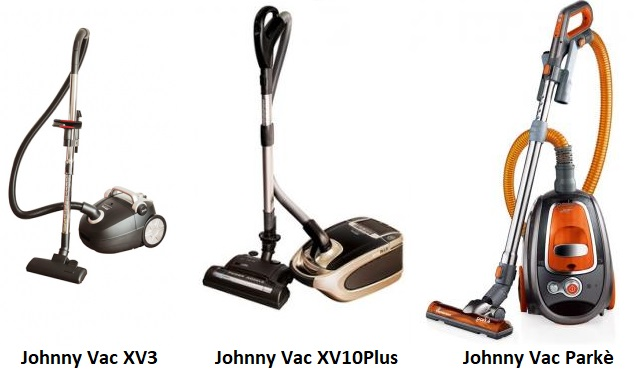johnnyvac canister vacuums