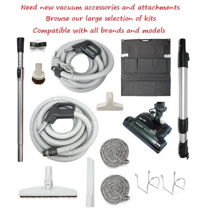 built-in vacuum cleaner accessories