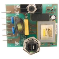 Central Vacuum 15 amps Circuit Board for 220-240 Volts European Models