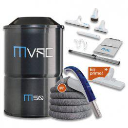 MVac M50 Central Vacuum System Valentine Day Package Deal