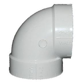 Short 90 Degrees Elbow Central Vacuum Fitting