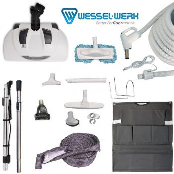 Central Vacuum Accessories and Attachments Wessel Werk Electric Kit