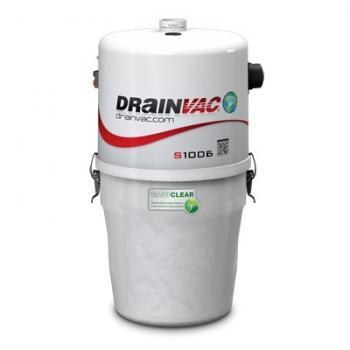 Drainvac S1006 Central Vac Package for Medium to Large Home