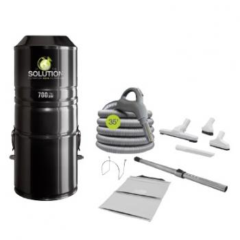 The Solution 700 Central Vacuum Package with Attachments