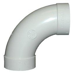 Long 90 Degrees Elbow Central Vacuum Fitting