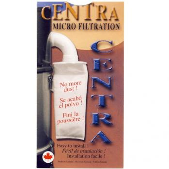 Centra HEPA Exhaust Filter for Central Vacuum Systems