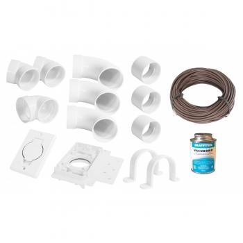 Central Vacuum System Installation Kit