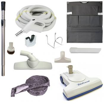Central Vacuum Accessories and Attachments with TurboCat TP210 Carpet Beater