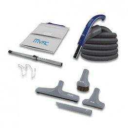 MVac M90 Gamma Edition Central Vacuum Package with Gamma Accessories