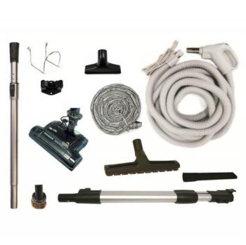 DuoVac Star Central Vacuum Package with Full Eclectric Accessories MEGA Deal