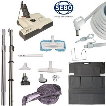 SEBO ET-1 Central Vacuum Attachment Kit