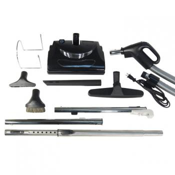 Central Vacuum Electric Attachment Kit for Carpets and Bare Floors