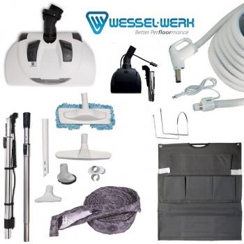 Ultimate Wessell Werk Central Vacuum Electric Attachment Kit