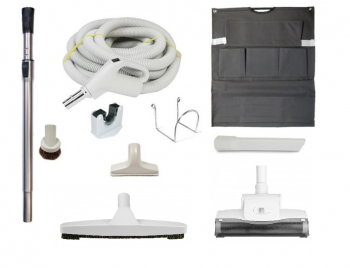 Central Vacuum Accessories and Attachments with Turbo Carpet Beater