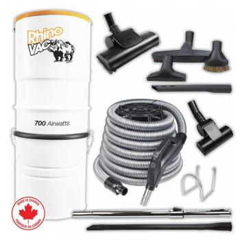 Rhino Vac Central Vacuum Package with Air Accessories