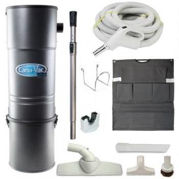 Canavac Es625 Central Vacuum Package Deal