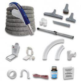 MVac M50 Central Vacuum Package with Hide-a-Hose RetraFlex Valentine Day Deal